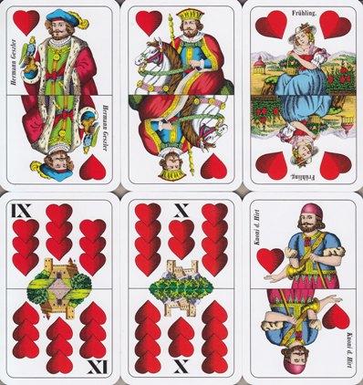 ... 32 karten es gibt aber auch ausgaben mit nur 24 oder mit 36 karten
